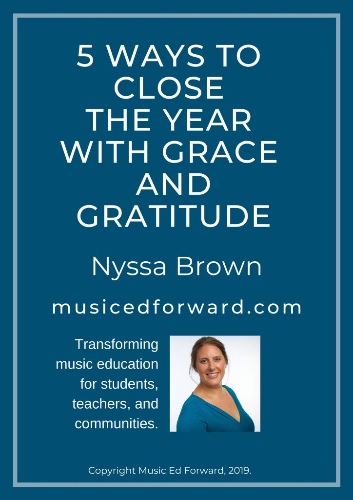 5 ways to close the year with grace and gratitude