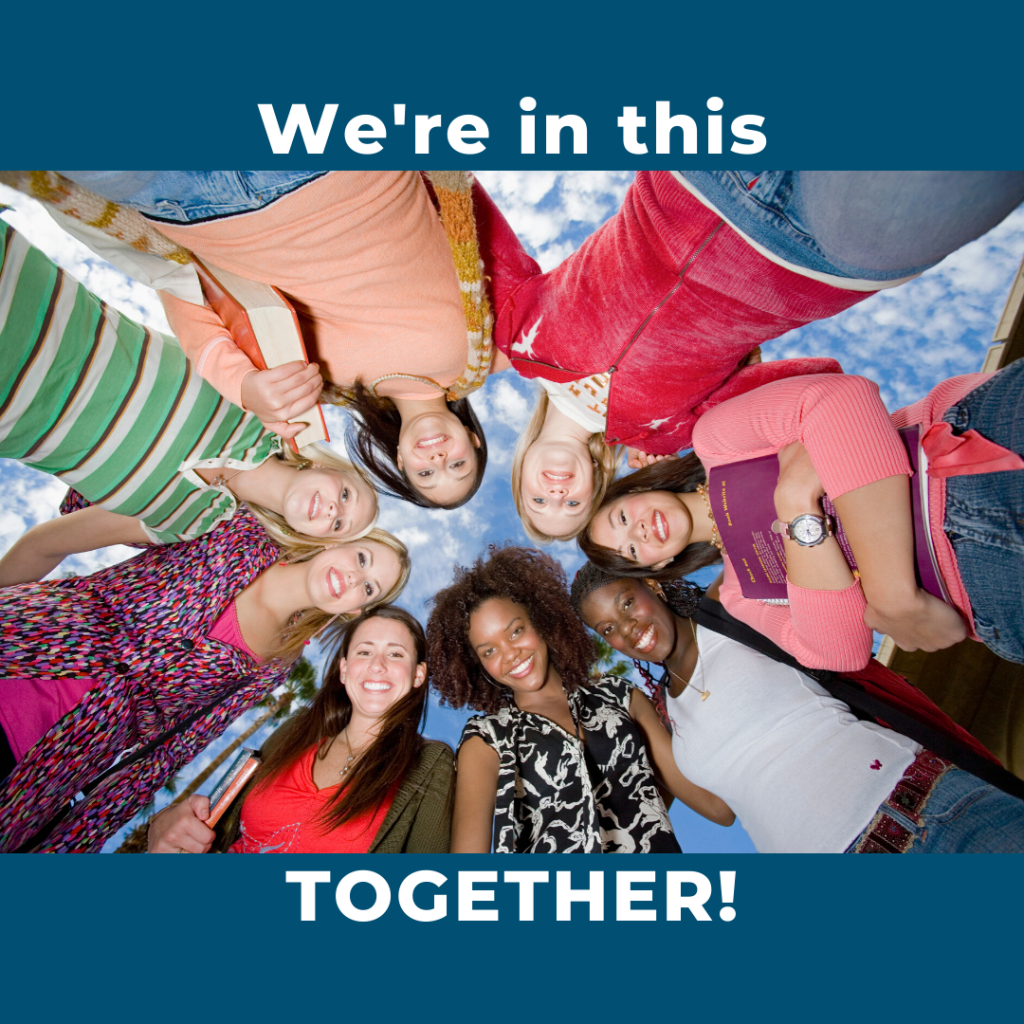 We're in this TOGETHER!