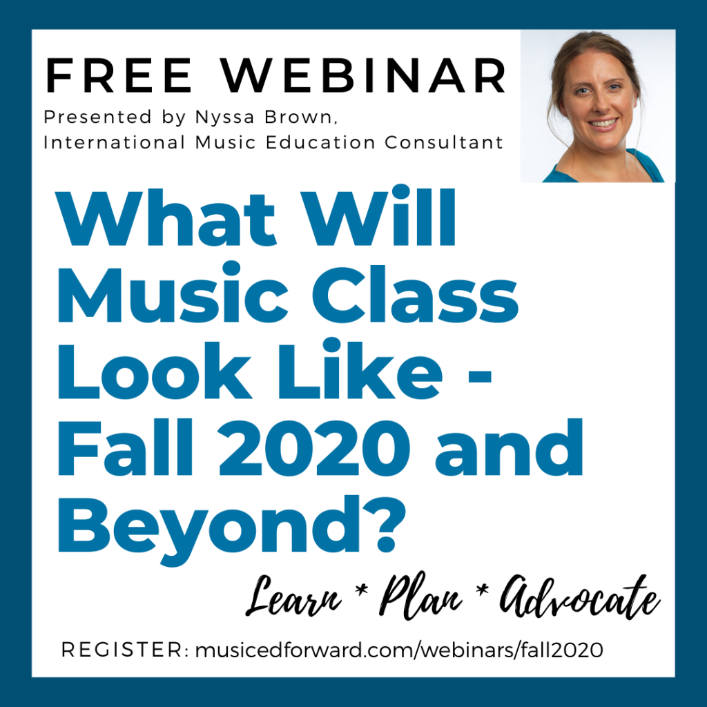 What Will Music Class Look Like - Fall 2020 and Beyond
