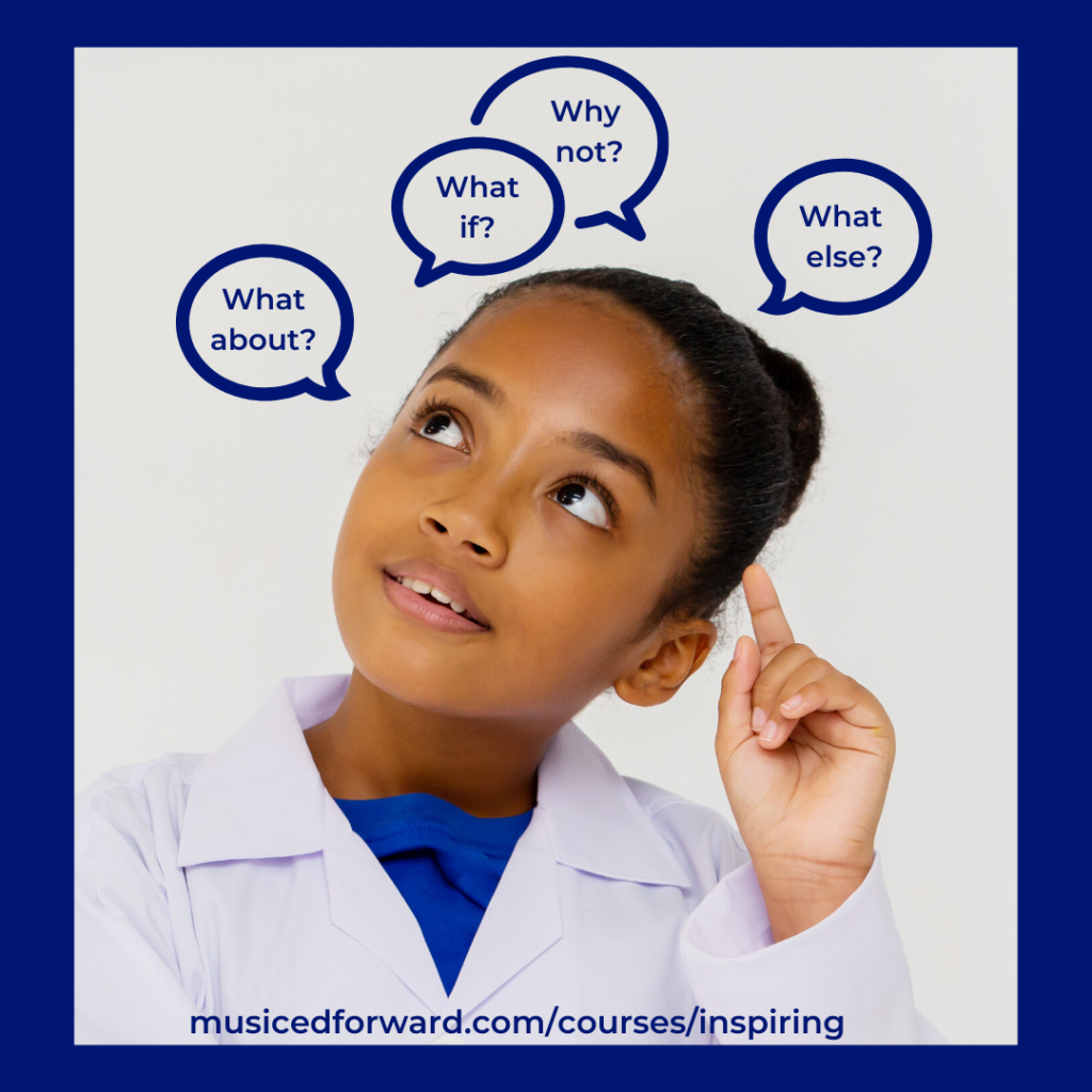 Little girl questions - Inspiring Inquiry in Music
